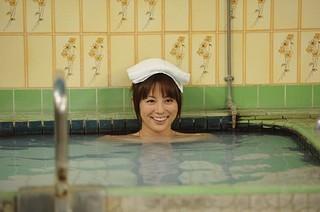 米倉涼子 入浴姿